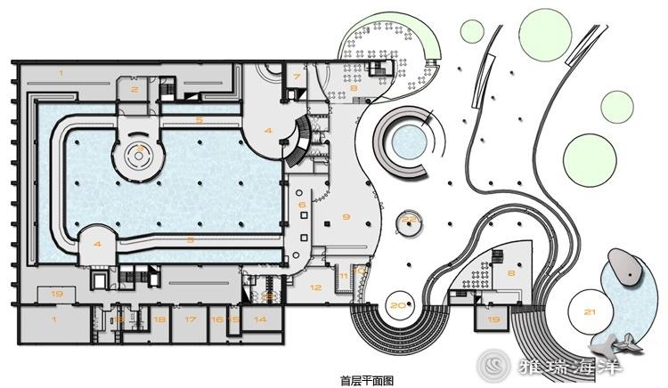 海底世界的展览馆展示设计